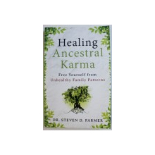 HEALING ANCESTRAL KARMA  - FREE YOURSELF FROM UNHEALTHY FAMILIY PATTERNS by STEVEN D . FARMER , 2014
