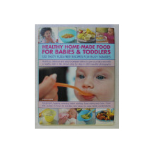 HEALTHY HOME - MADE FOOD FOR BABIES & TODDLERS , 150 TASTY FUSS - FREE RECIPES FOR BUSY FAMILIES by SARA LEWIS , 2008