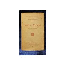 Helene Vacaresco, Nuits d'Orient, folk-lore roumain - Paris, 1907