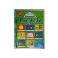 HELP WITH HOMEWORK ENGLISH , 6-8 YEARS