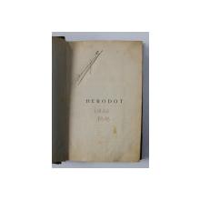 HERODOT de NICOLAE IORGA  - 1909