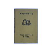 HERR UND FRAU von WILHELM BUSCH , 1930