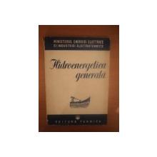 HIDROENERGETICA GENERALA , 1951