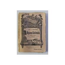 HIGIENA SUFLETULUI - FRUMUSETEA , IMAGINATIA , INTELIGENTA , VOINTA de BARON E . DE FEUCHTERSLEBEN , 1920