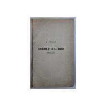 HISTOIRE DE COMMERCE ET DE LA MARINE EN BELGIQUE par ERNEST VAN BRUYSSEL , 1861