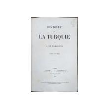 HISTOIRE DE LA TURQUIE par A DE LAMARTINE, TOM VII - PARIS, 1855
