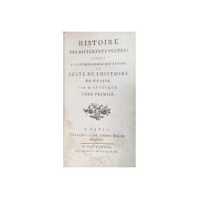 HISTOIRE DES DIFFERENTS PEUPLES SOUMIS A LA DOMINATION DES RUSSES OU SUITE DE L'HISTOIRE DE RUSSIE par M. LEVESQUE, TOM I - PARIS, 1783
