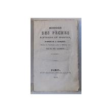 HISTOIRE DES PECHES FLUVIALES ET MARINE , d' apres M. J. CLOQUET par M . PH . LAURENT , 1834