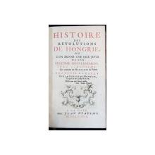 HISTOIRE DES REVOLUTIONS DE HONGRIE, TOME V - A LA HAYE, 1739