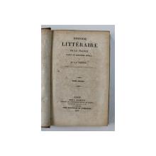 HISTOIRE  LITTERAIRE DE LA FRANCE AVANT LE DOUZIEME SIECLE par M. J. - J. AMPERE , TOME SECOND , 1830