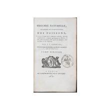 HISTOIRE NATURELLE, GENERALE ET PARTICULIERE DES POISSONS par C. S. SONNINI - PARIS, 1804