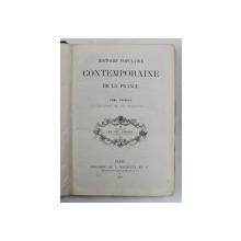 HISTOIRE POPULAIRE CONTEMPORAINE DE LA FRANCE , TOME PREMIER , ILLUSTRE DE 303 VIGNETTES par CH. LAHURE , 1864