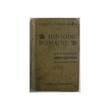 HISTOIRE ROMAINE  - CLASSE DE CINQUIEME par A. MALET et J. ISAAC , 1931
