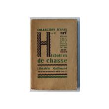 HISTOIRES DE CHASSE , 1926