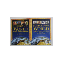 HISTORY OF OUR WORLD by STECK - VAUGHN , VOLUMES I - II , 2004