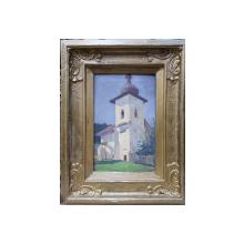 Honoriu Cretulescu (1897-1978) - Clopotnita Manastirii