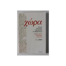 HORA - REVUE D 'ETUDES ANCIENNES ET MEDIEVALES - PHILOSOPHIE , THEOLOGIE , SCIENCES , 2 / 2004