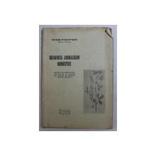 HRANIREA ANIMALELOR DOMESTICE de VICTOR PASCOVSCHI , 1938