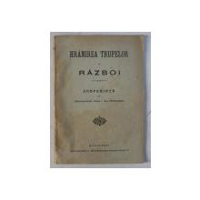 HRANIREA TRUPELOR IN RAZBOI - CONFERINTA de I. AL. NICULESCU