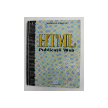 HTML - PUBLICATII WEB de DUMITRU RADOIU , 1996