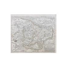 Hubert Jaillot - Nova Transilvaniae Principatus Tabula ad Usum Serenissimi Burgundiae Ducis, Gravura, 1696