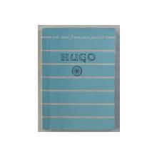 HUGO  - POEZII , COLECTIA ' CELE MAI FRUMOASE POEZII ' , 1958