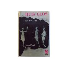 HUIS CLOS suivi de LES MOUCHES par JEAN  - PAUL SARTRE , 1964