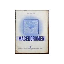 I MACEDOROMENI de TH. CAPIDAN - BUCURESTI, 1943