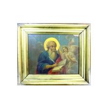 Icoana pe lemn , Sf. Evanghelist Matei , sec XX