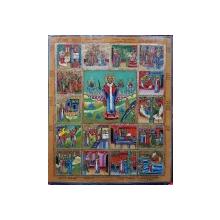 Icoana Rusia, Scene din viata Sf. Nicolae