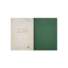 ICOANE DE LUMINA  - CONFERINTE TINUTE de N . PETRASCU , VOLUMELE I  - II -  1935 , VOLUMUL UNU CONTINE DEDICATIA AUTORULUI *