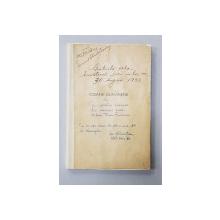 ICOANE DUNARENE , DUNAREA, DELTA SI TAINA BALTILOR de MIHAI TICAN RUMANO cu o coperta de pictorul NICOLAE STOICA - BUCURESTI, 1933