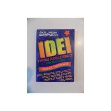 IDEI PENTRU LECTIILE BIBLICE PENTRU COPII 2001
