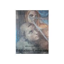 IL GIUDIZIO UNIVERSALE DI MICHELANGELO testo di D. REDIG DE CAMPOS  1964