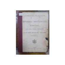 IMPARTIREA ADMINISTRATIVA A ROMANIEI - BUC. 1926