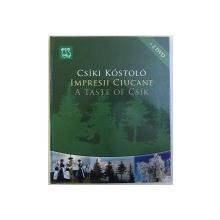 IMPRESII CIUCANE ( EDITIE IN ROMANA - MAGHIARA  - ENGLEZA ) de DACZO KATALIN , CONTINE 2 DVD  - URI , 2011