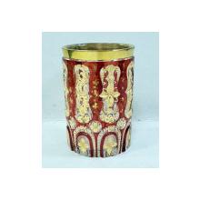 Impresionant pahar din cristal Bohemia, secol XIX