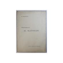 IN MEMORIA PROFESORULUI AL. SLATINEANU