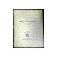 IN MEMORIAM CONTANTINI ERBICEANU- VASILE PARVAN/NICOLAE IORGA -1914