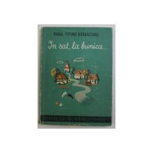 IN SAT , LA BUNICA ...de MARIA FOTINO BARBACIORU , 1943 , DEDICATIE*