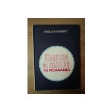 INAINTASI AI GENETICII IN ROMANIA de STELIAN OPRESCU , Bucuresti 1983