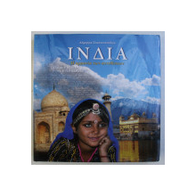 INDIA , ALBUM DE FOTOGRAFIE , TEXT IN LIMBA GREACA , 2010
