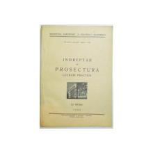 INDREPTAR DE PROSECTURA , LUCRARI PRACTICE , 1962