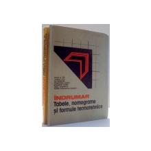 INDRUMAR , TABELE , NOMOGRAME SI FORMULE TERMOTEHNICE , VOL I , II de MIHAI I. POP ... EUGEN CONSTANTIN ISBASOIU , 1987