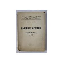 INDRUMARI METODICE , VOLUMUL  IV - CALIGRAFIE DESEN , EDUCATIE FIZICA , MUZICA de VIRGIL CONDOIU ...N. LUNGU , 1939