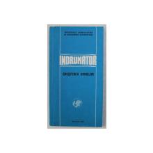 INDRUMATOR , CRESTEREA OVINELOR , MATERIAL IN SPRIJINUL PERFECTIONARII CUNOSTINTELOR AGROZOOTEHNICE , 1978