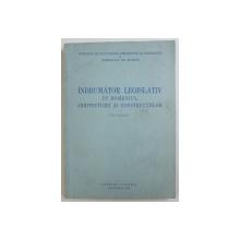 INDRUMATOR LEGISLATIV IN DOMENIUL ARHITECTURII CONSTRUCTIILOR , 1955