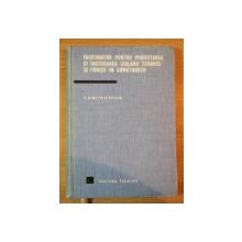 INDRUMATOR PENTRU PROIECTAREA SI INCERCAREA IZOLARII TERMICE SI FONICE IN CONSTRUCTII de ING. E. DIMITRIU VILCEA , Bucuresti 1968