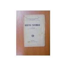 INDUSTRIA PARFUMULUI de E. SEVERIN , Bucuresti