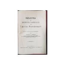 INDUSTRIA SI DESVOLTAREA EI IN TARILE ROMANESTI de DUMITRU Z. FURNICA , 1926 , CU DEDICATIA AUTORULUI